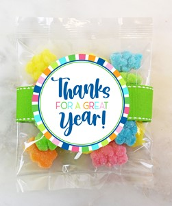 Sweet Sanded Gummy Bears 3oz Cello Bag (Candy)