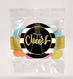 Color Matched Jordan Almonds 3oz Cello Bag Premium (Candy)