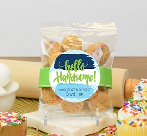 Confetti Cupcake Cookies 2oz Cello Bag (Cookies)