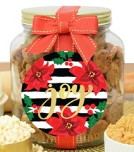 Brownie Crisps Glass Half Gallon Jar