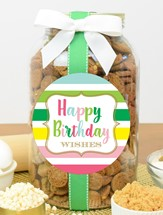 Brownie Crisps Plastic Gallon Jar