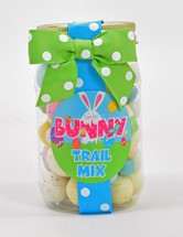 Bunny Trail Mix Plastic Pint Jar