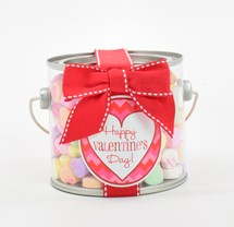 Classic Conversation Hearts Paint Can Mini