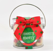 Sanded Holiday Gummy Bears Paint Can Mini