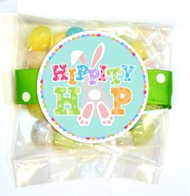 Pastel Speckled Jelly Beans Small Treat Bag (Candy)