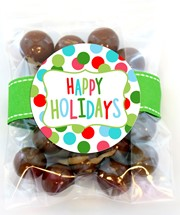 Chocolate Malt Balls 3oz Cello Bag (Candy)