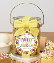 Confetti Cupcake Cookies Paint Can