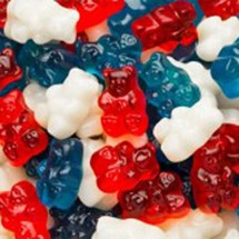 Red, White & Blue Gummy Bears