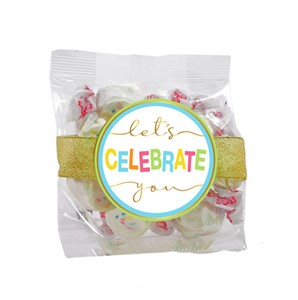 Frosted Cupcake Taffy 2oz Cello Bag (Candy)