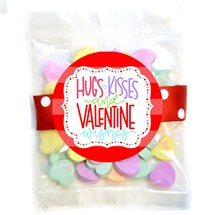 Classic Conversation Hearts Small Treat Bag (Candy)