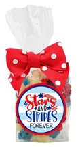Red White & Blue Gummy Bears 6oz Cello Bag (Candy)