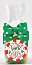 Holiday Gummy Bears 6oz Cello Bag