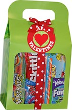 Gable Candy Box W/Wrapped Candies