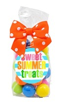 Color Matched Gumballs Regular Treat Bag