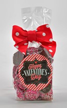Valentine Milk Chocolate Nonpareils 6oz Cello Bag