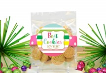 Whipped Butter Cookies 2oz Cello Bag (Cookies)