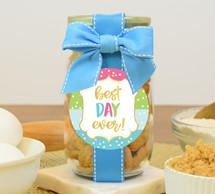 Whipped Butter Cookies Plastic Pint Jar