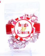 Valentine Yogurt Coated Pretzels Small Treat Bag