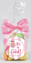 Color Matched Jordan Almonds 6oz Cello Bag (Candy)