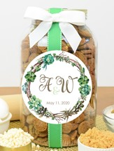 Brownie Crisps Glass Gallon Jar