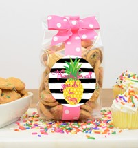 Confetti Cupcake Cookies 5oz Cello Bag