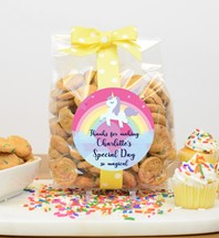 Confetti Cupcake Cookies 10oz Cello Bag
