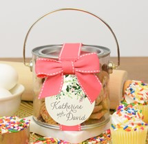 Confetti Cupcake Cookies Paint Can Mini