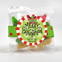 Sanded Gummy Trees & Snowmen 3oz Cello Bag (Candy)