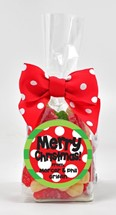 Sanded Gummy Trees & Snowmen 6oz Cello Bag