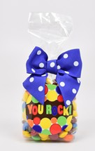 Color Matched Milk Chocolate Gems 6oz Cello Bag