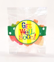 Sour Sanded Gummy Bears 3oz Cello Bag (Candy)