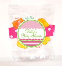 Small Gummy Flowers 3oz Cello Bag (Candy)