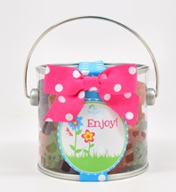 Small Gummy Flowers Paint Can Mini