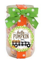 Pumpkin Pie Taffy Plastic Pint Jar