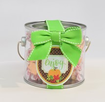 Pumpkin Pie Taffy Paint Can Mini