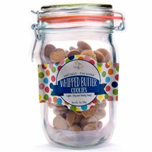 Whipped Butter Cookies Mason Jar Pouch