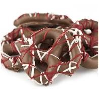 Valentine Chocolate Coated Pretzels Small Treat Bag